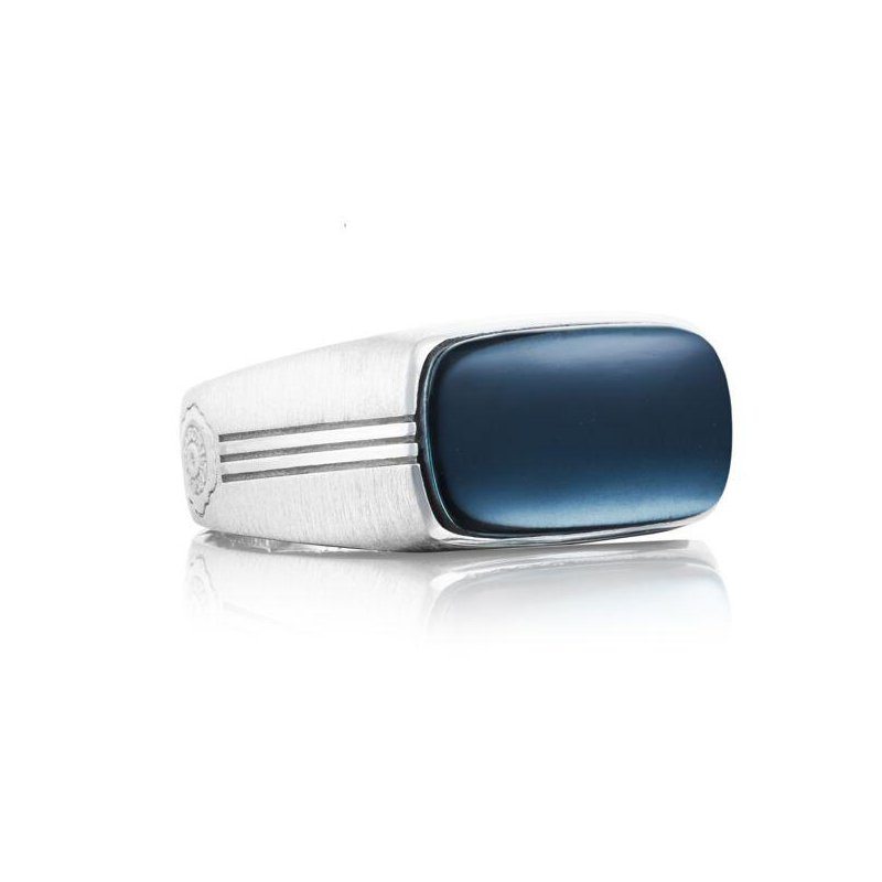 CLEARANCE Tacori East-West Ring featuring Sky Blue Hematite