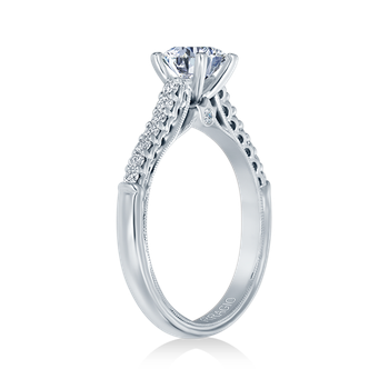 Renaissance-901R6 White Gold Engagement Ring