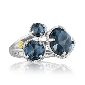 Tacori Budding Brilliance Ring featuring London Blue Topaz