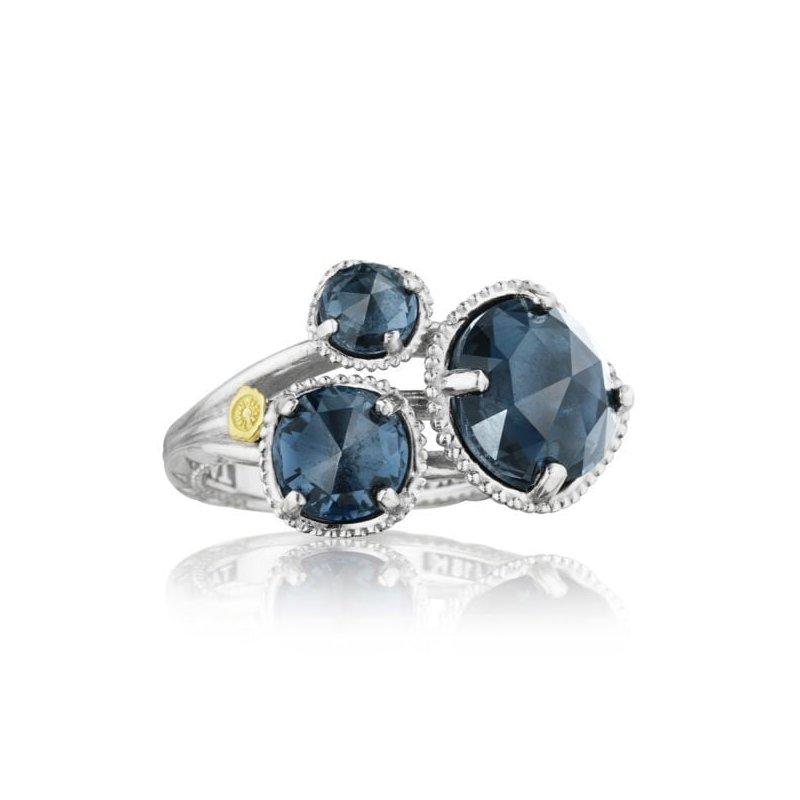 CLEARANCE Tacori Budding Brilliance Ring featuring London Blue Topaz