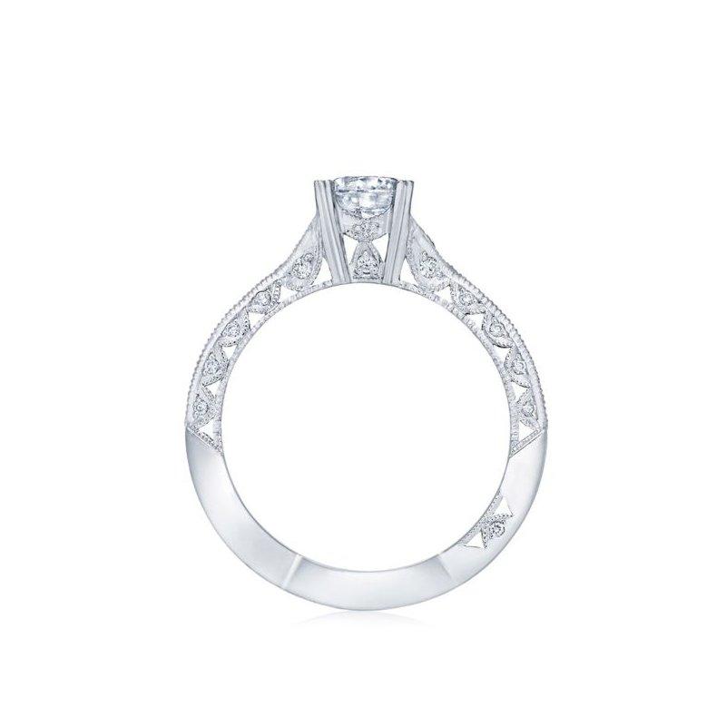 Tacori Classic Crescent White Gold Engagement Ring
