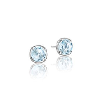 Simply Gem Stud featuring Sky Blue Topaz