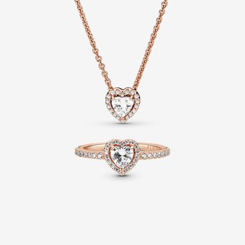 Classic Love Necklace and Ring Set