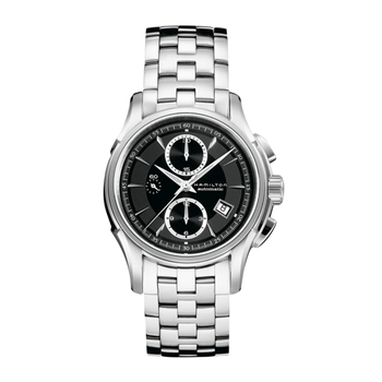 Hamilton Jazzmaster Auto Chrono - Automatic 42mm Black