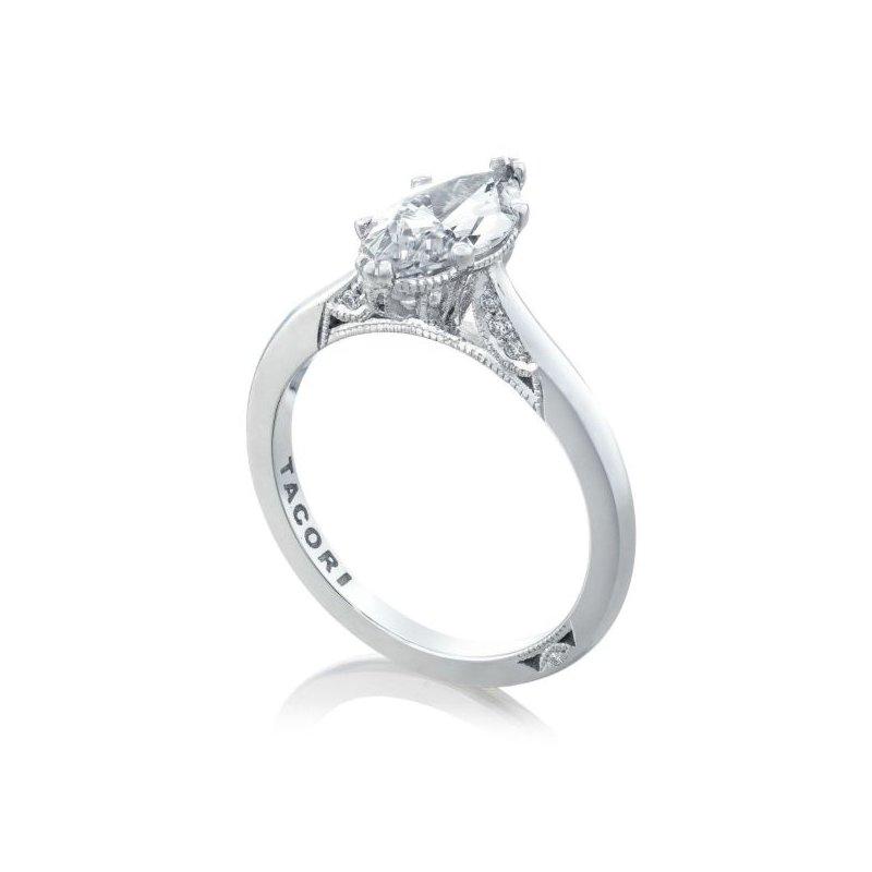 Tacori Simply Tacori Marquise Platinum Engagement Ring