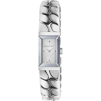 Gucci G-Frame Silver Dial Ladies Watch