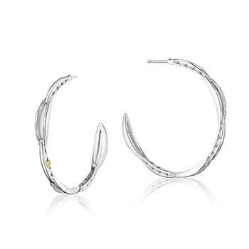 Tacori Crescent Curve Hoop Earrings