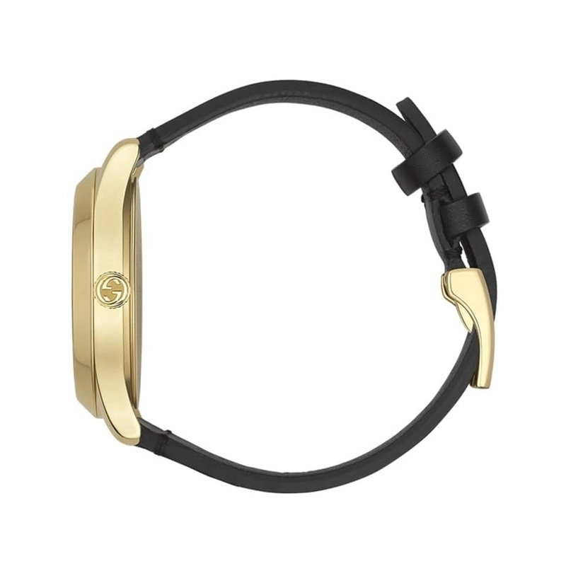 CLEARANCE G-Timeless Gold and Black Dial, Bees and Stars Gucci Watch