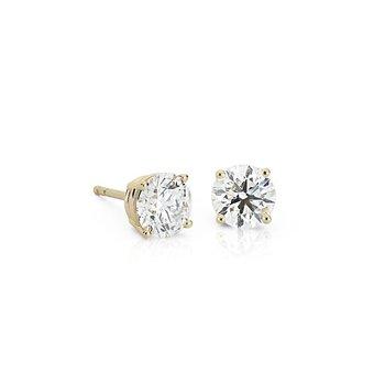 0.25ctw Diamond Studs - 14K Yellow Gold