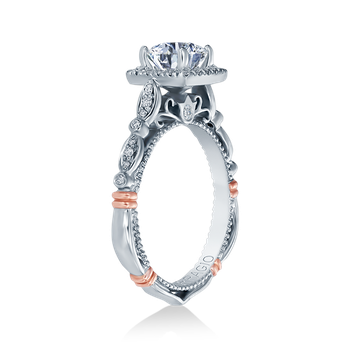PARISIAN-136CU White Gold Engagement Ring
