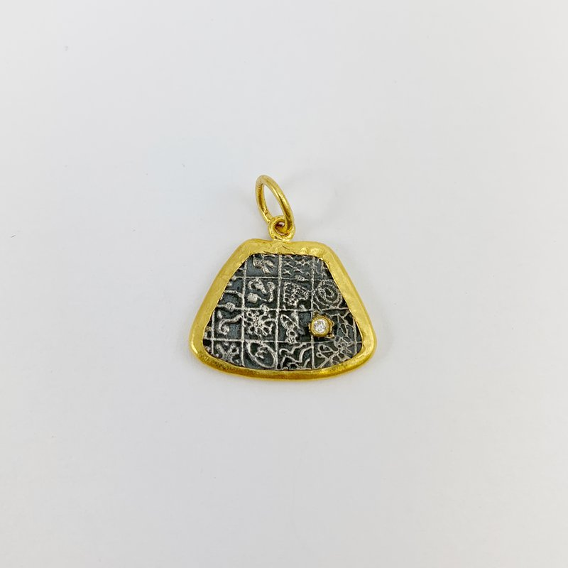Prehistoric Works Turkic Alphabet Pendant