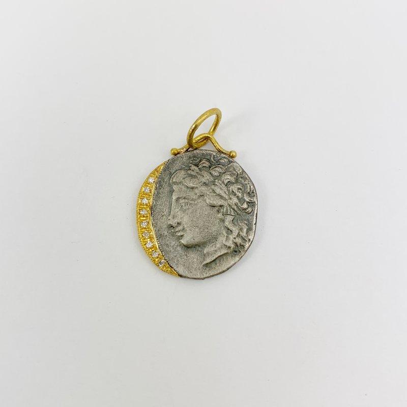 Prehistoric Works Goddess Diana Pendant