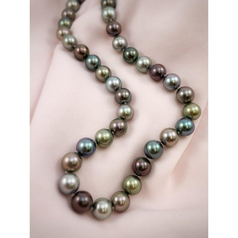 Devon Fashion Multi-color Tahitian Pearl Necklace