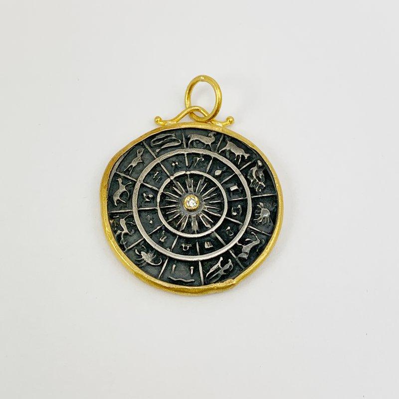 Prehistoric Works Zodiac Pendant