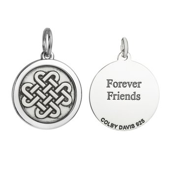 Sterling Silver Medium Friendship Knot Pendant