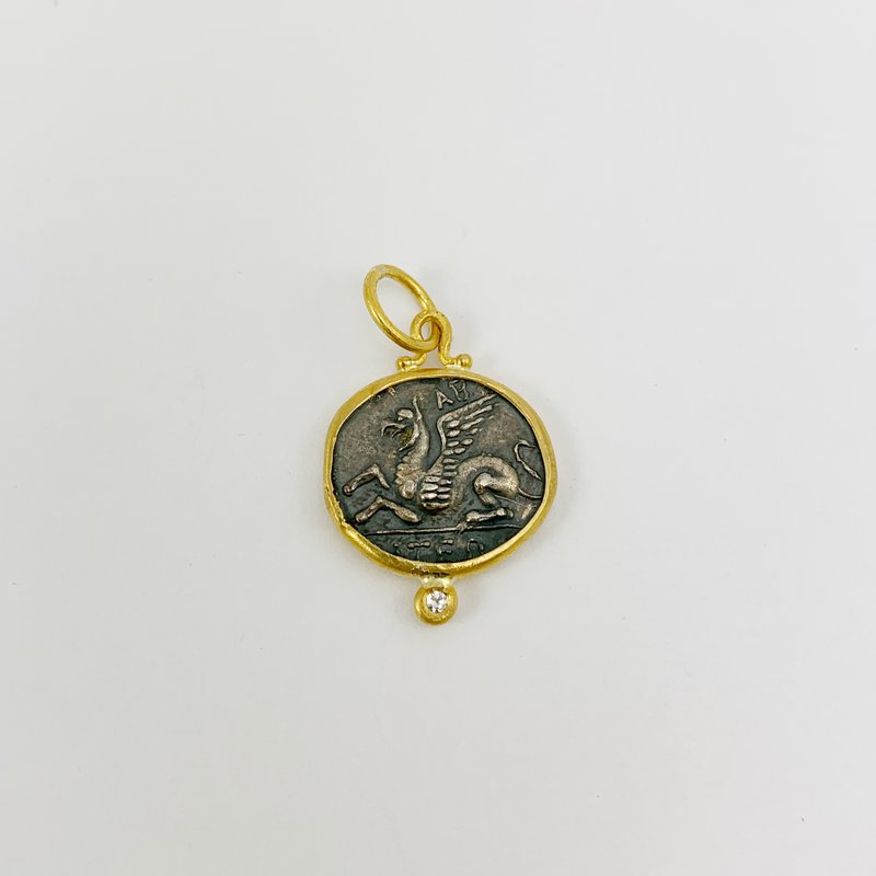 Prehistoric Works Pegasus Pendant