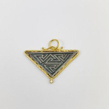 Ancient Maze Amulet Pendant