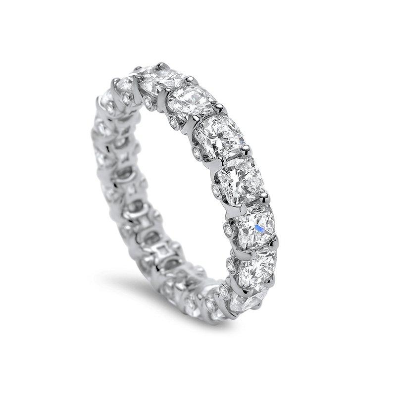 Superior Diamond Cutters Platinum Diamond Eternity Band