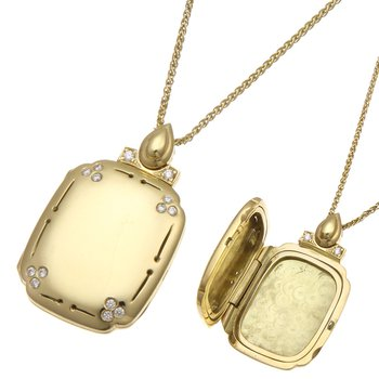 Yellow Gold Classic Locket