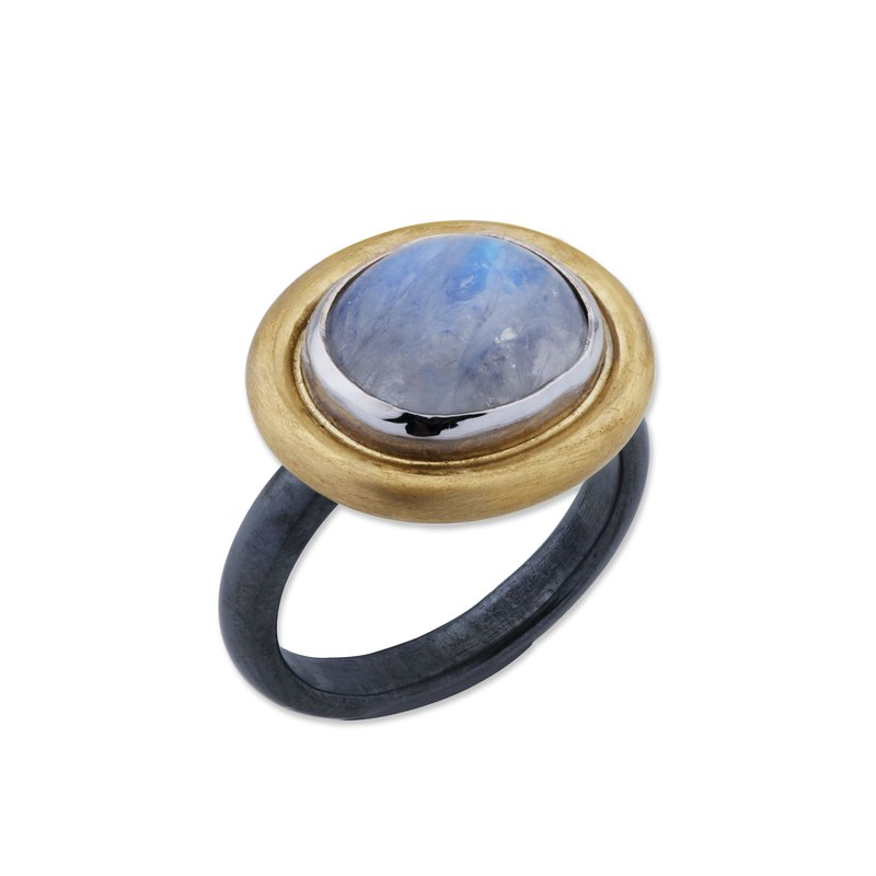 Lika Behar Collection Two Tone Moonstone Ring