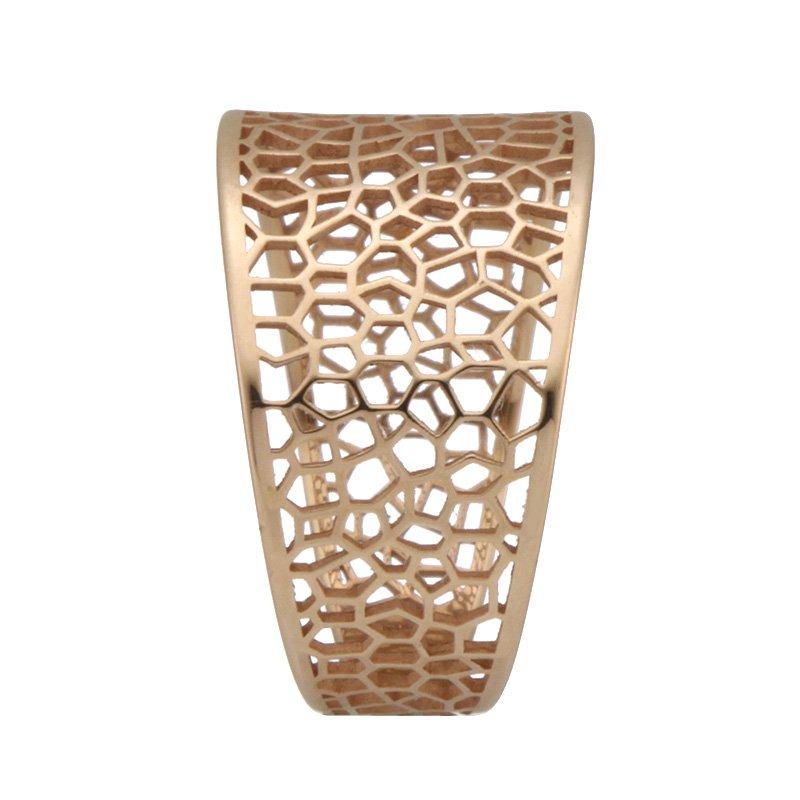Devon Fashion Rose Gold Cut Out Ring