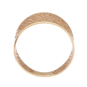 Rose Gold Cut Out Ring
