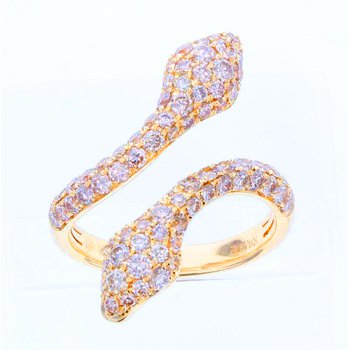 14kt Honey Gold™ Snake Ring
