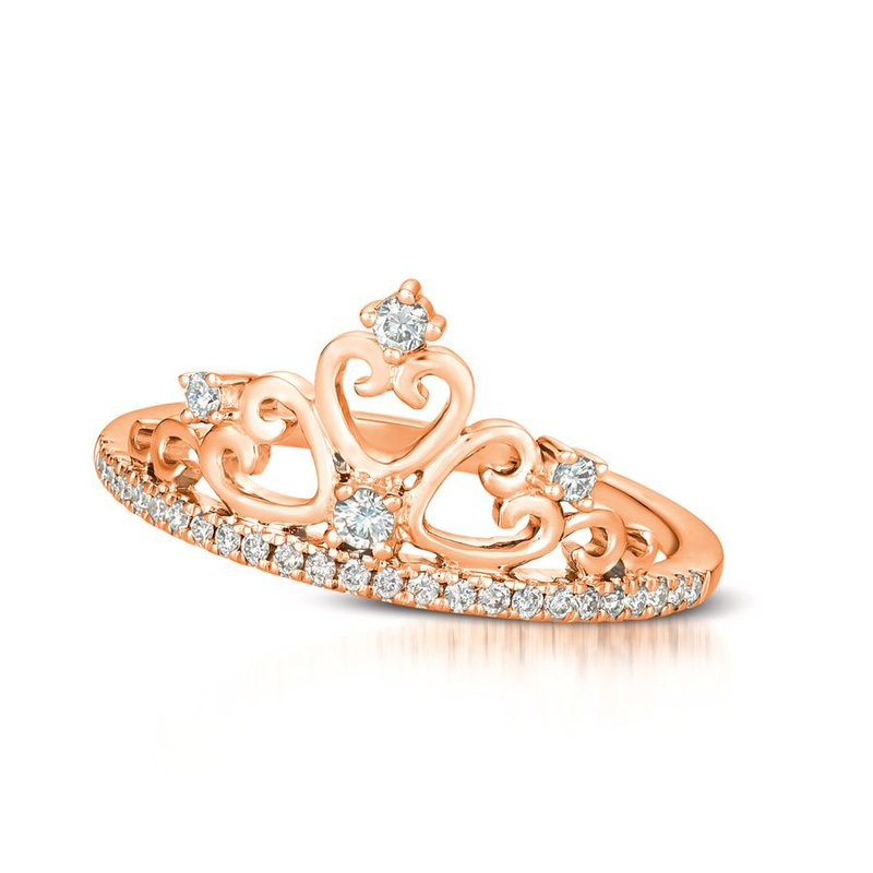 Le Vian 14kt Strawberry Gold® Crown Ring