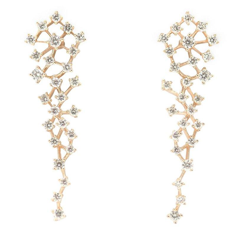 Sophia by Design Diamond Dangle Earrings