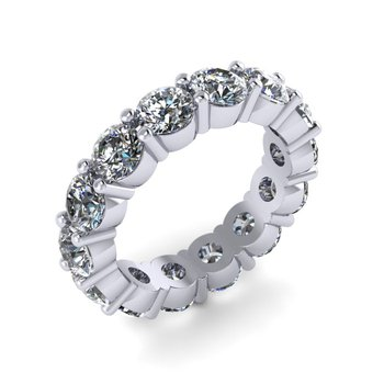 Round Diamond Eternity Band - Custom Order
