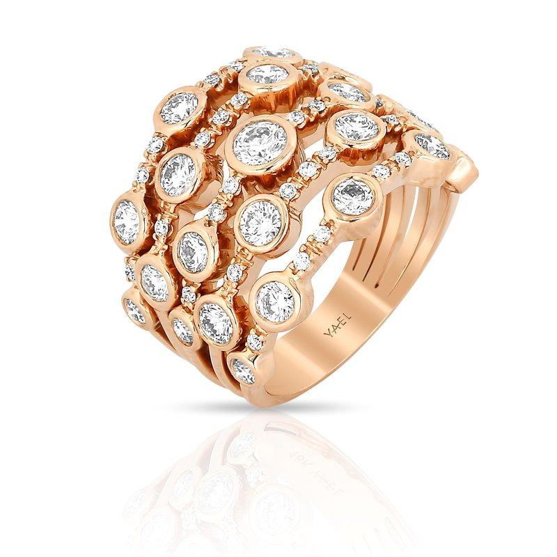 Yael Designs Bubble Diamond Band 18KR