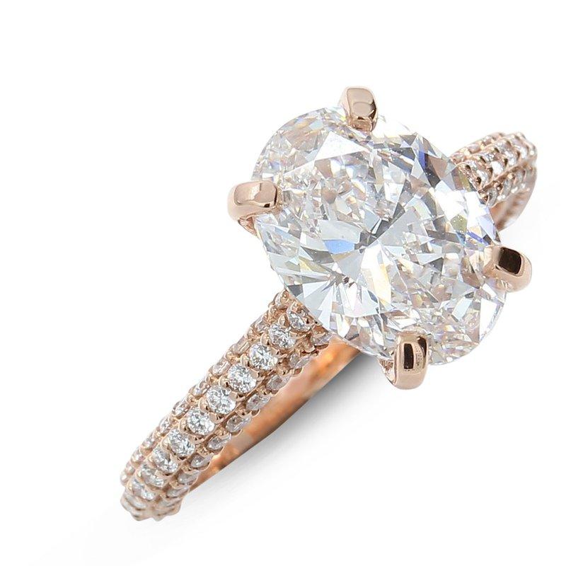 Engagement Ring Setting 14KR - Custom Order