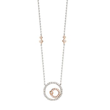 Circle Necklace 14K