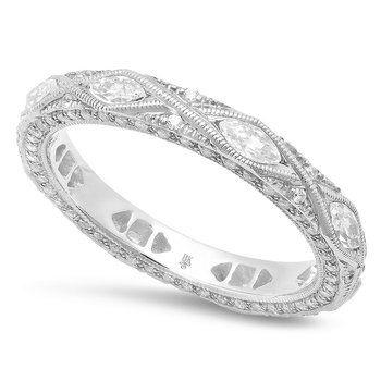 Diamond Eternity Band 18KW