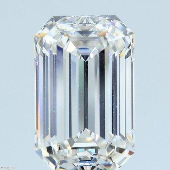 Emerald Cut 5.86 G* VVS1 GIA