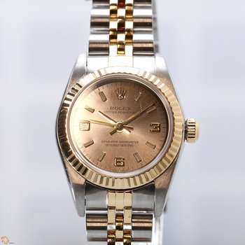 Lady Oyster Perpetual Steel/18KY 76193