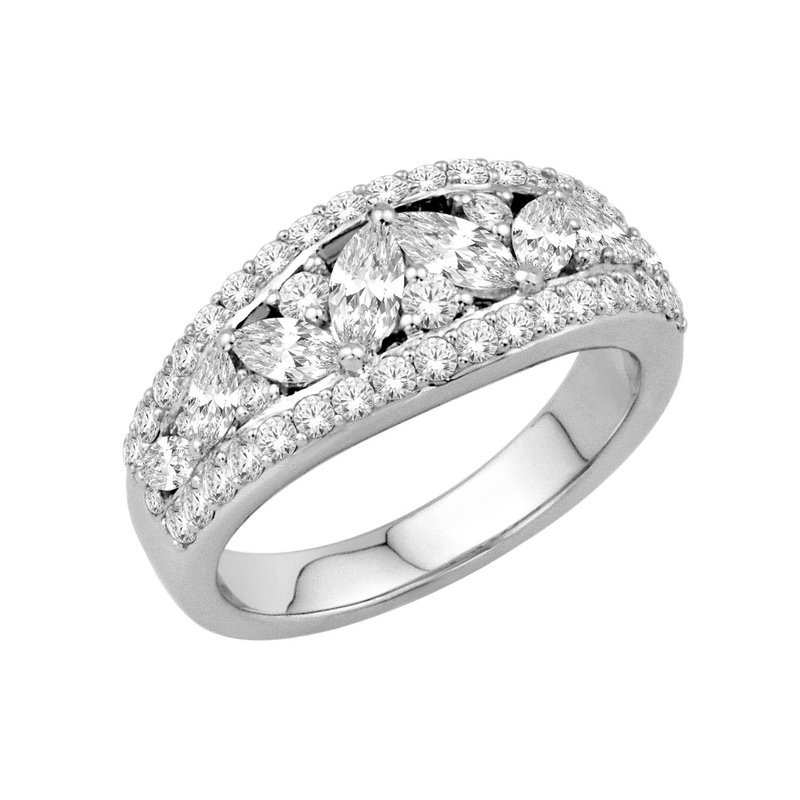 Isadora Vintage Diamond Ring