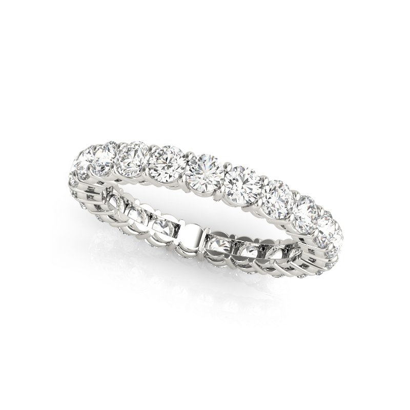 Gallery Designs Round Diamond Eternity Band
