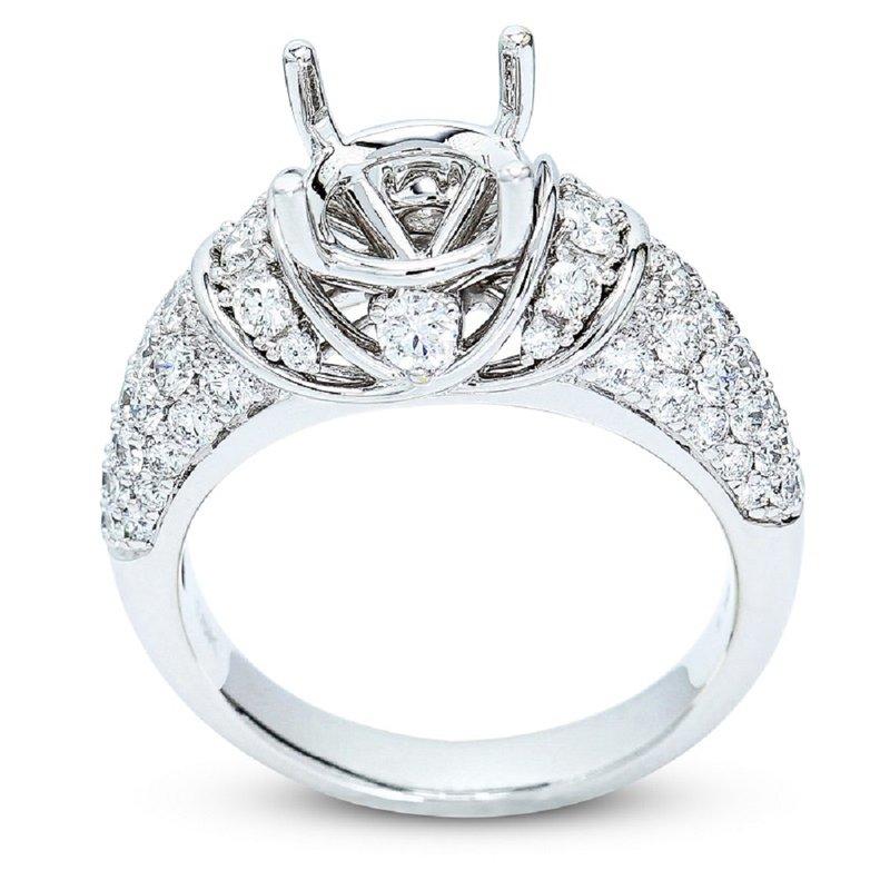Isadora Vintage Diamond Engagement Setting