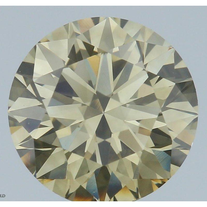 Colored Diamonds Round 1.04 Fancy Brown Yellow/VS2