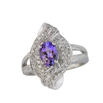 Estate Tanzanite Ring