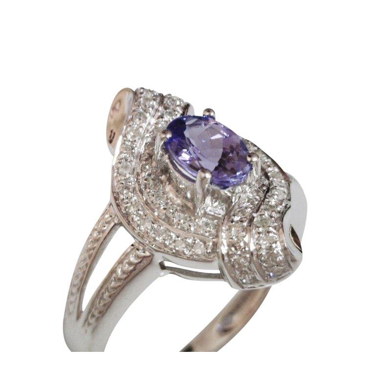 Estate Jewelry Estate Tanzanite Ring
