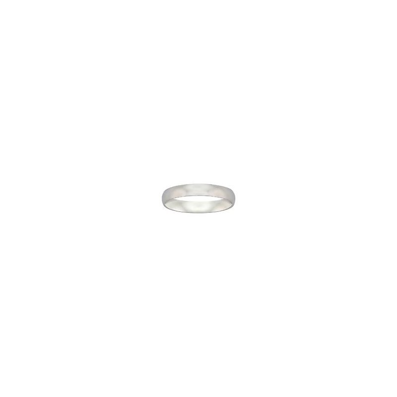 Frederick Goldman 4MM Palladium Comfort Fit Wedding Band
