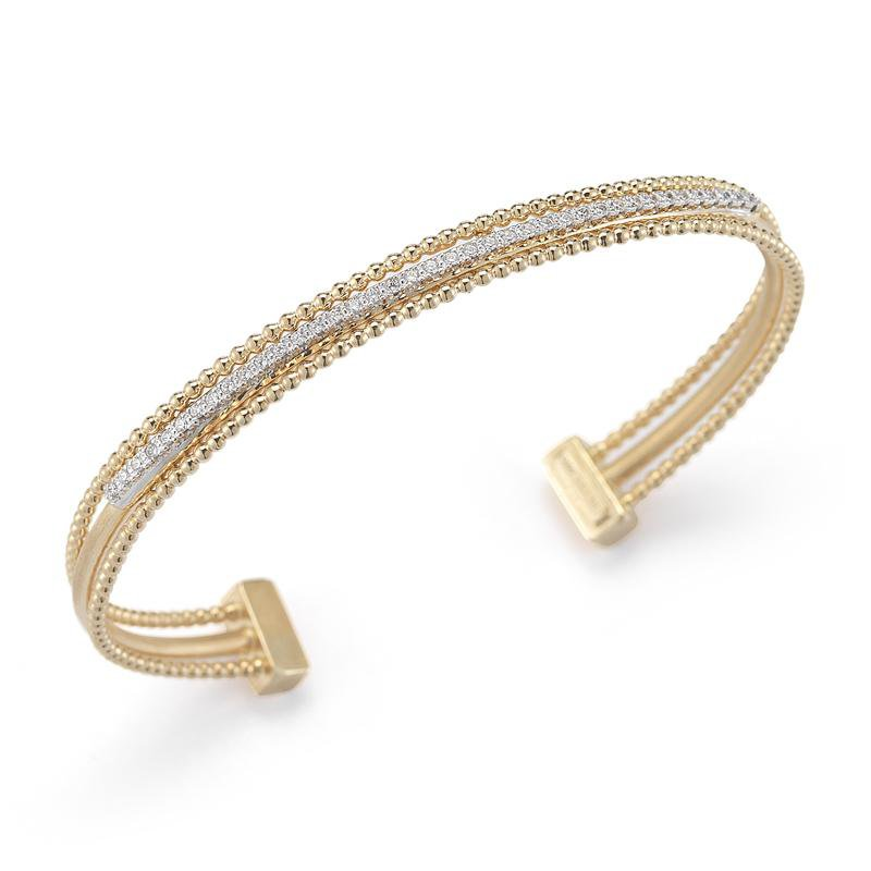 I. Reiss Diamond Bangle Bracelet