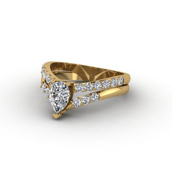 Split Style Engagement Ring
