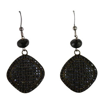 Black Spinel Dangles