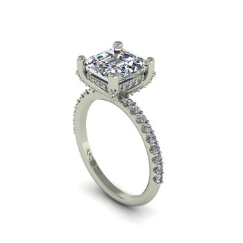 Modern Classic Engagement Ring