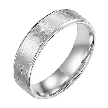 4MM Flat Wire Finish Wedding Band