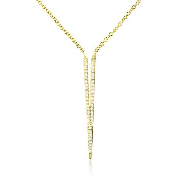 Spike Diamond Necklace