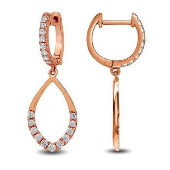 Dangle Earrings 14KR